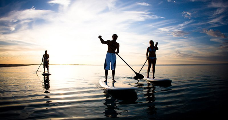 Techniques Stand Up Paddle Boarding