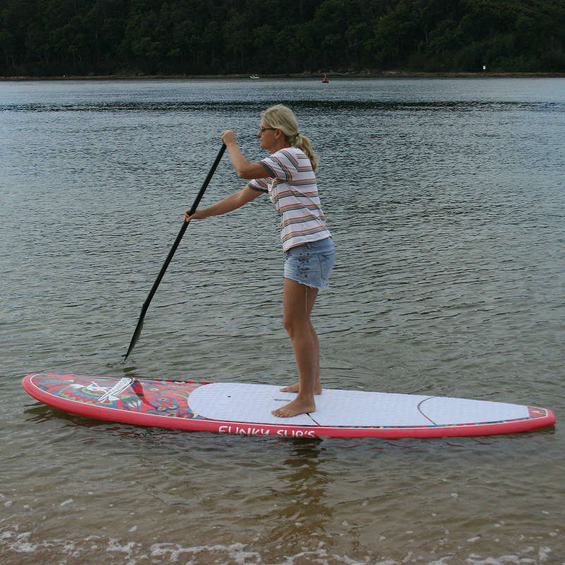 flower power sup paddle board package funky sup 39 s. Black Bedroom Furniture Sets. Home Design Ideas